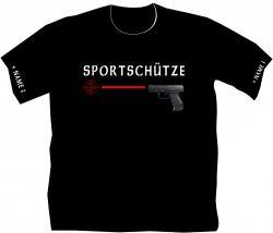 Sportschütze Pistole Schießsport Freizeit hobby