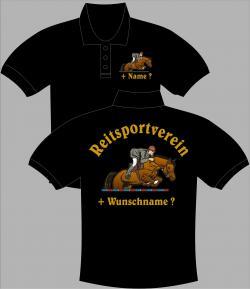 Polo-Shirt Reitsport poloshirt reitjacke reithose reitstiefel reitzubehör