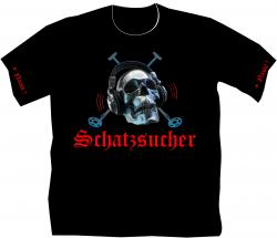 Sondengänger, Sondlershirt, Schatzsuche, Gold., Schatzjäger, Münzen. T.Shirt