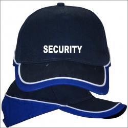 Security Basecap bedruckte Mützen Sicherheitsdienst bekleidung Schutz