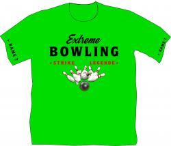 Bowlinshirt, Extremebowler, Kugel, Bowlingbahn, Freizeit
