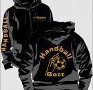 Kapuzenjacke Handball Motiv 11