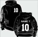 Kapuzen-Sweatshirt Basketball Motiv 11