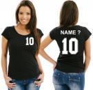 Girlie-Shirt Basketball Motiv 11