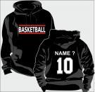 Kapuzen-Sweatshirt Basketball Motiv 12