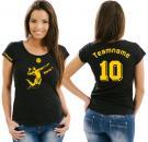Girlie-Shirt Volleyball Motiv 14