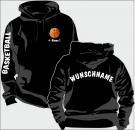 Kapuzen-Sweatshirt Basketball Motiv 15
