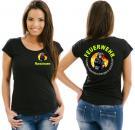 Girlie-Shirt Feuerwehr Motiv 15