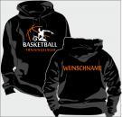 Kapuzen-Sweatshirt Basketball Motiv 16