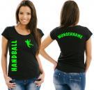 Girlie-Shirt Handball Motiv 16