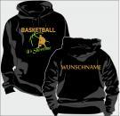 Kapuzen-Sweatshirt Basketball Motiv 17