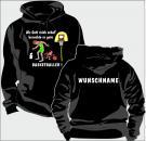 Kapuzen-Sweatshirt Basketball Motiv 1