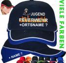 Jugend Feuerwehr Basecap Baseball Caps bedruckte Geschenke Kappen Mützen Logo