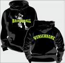 Kapuzen-Sweatshirt Basketball Motiv 2
