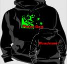 Kapuzen-Sweatshirt Skisport Motiv 2