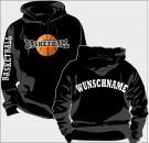 Kapuzen-Sweatshirt Basketball Motiv 3