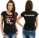 Girlie-Shirt Basketball Motiv 5