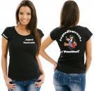 Girlie-Shirt Feuerwehr Motiv 6