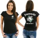 Girlie-Shirt Feuerwehr Motiv 7