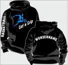 Kapuzen-Sweatshirt Basketball Motiv 9